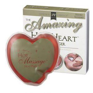 the amazing hot heart massager original