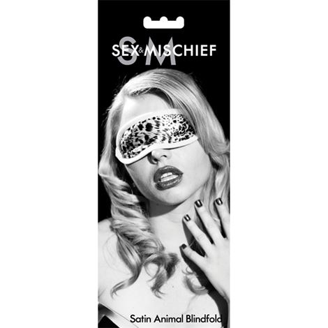 SM Satin Blindfold Animal