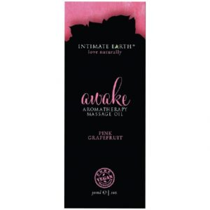 intimate earth massage oil ml oz foil awake