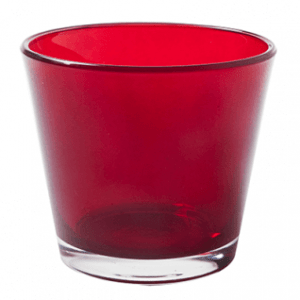 Red Tea Light Holder