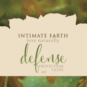 intimate earth defense lube sea kelp guava bark ml foil