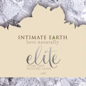 intimate earth elite silicone shiitake glide ml foil