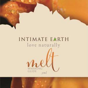 intimate earth melt warming lube cinnamomum cassia bark ml foil